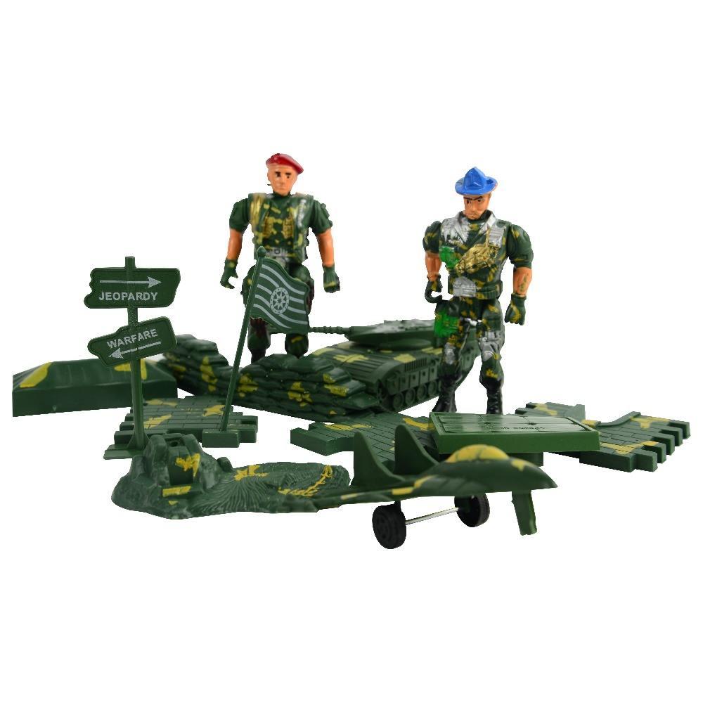 250pcs Kunststoff Militär Figuren Modell Spielzeug Actionfiguren Dekoration
