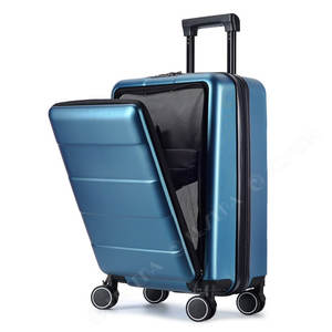RESENA PC Front Laptop Pocket Business Style TSA lock Travel Carry on Suitcase Trolley Luggage