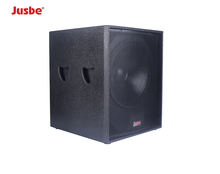 S118 8ohm dj woofer main amplifying of hall acoustic amplification system
