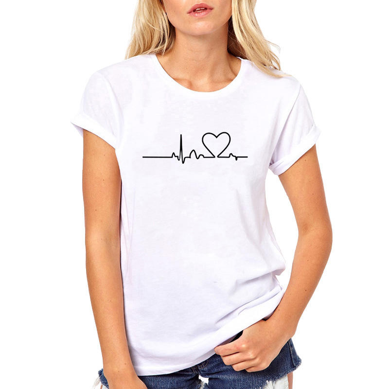 Best selling custom logo printing 100% cotton blank white t shirt women