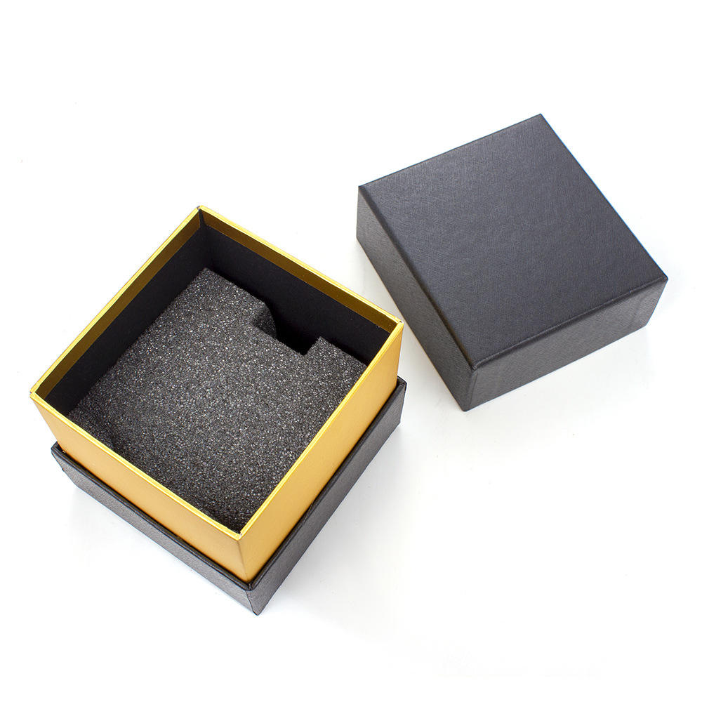H401 Low Moq Good Quality Black Square Gift Paper女性用メンズ腕時計