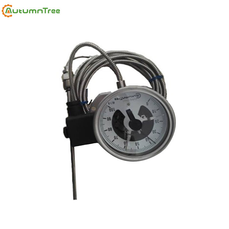 SS304 100 MM Eau Chaude Industrielle Thermomètre à Contact Électrique