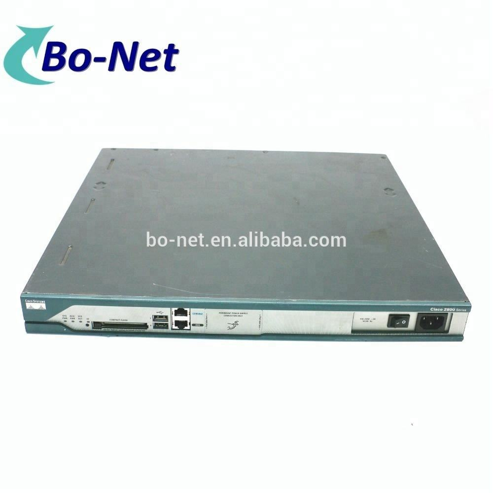 Cisco 2811 Integrated services router 2 WAN Ethernet port enterprise router