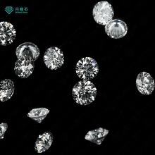 Top quality VVS clarity lab grown diamond round brilliant cut loose diamond for jewelry