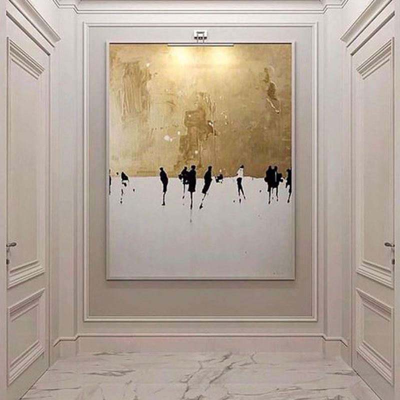 wholesale printing processing making large modern custom art canvas