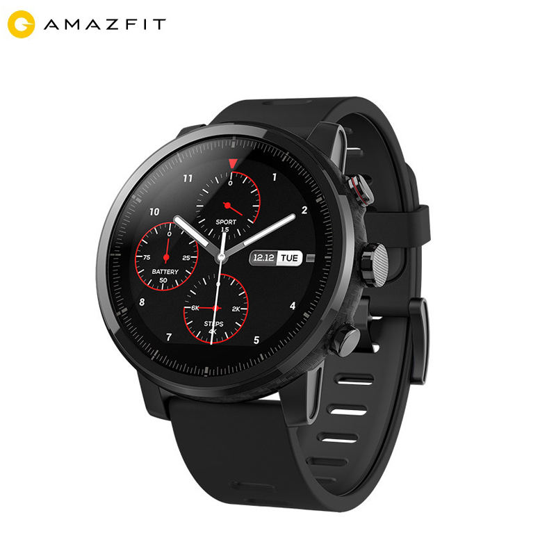 Men Watches Xiaomi Amazfit Pace 2 Android Smartwatch 2018 with Fitness Tracker