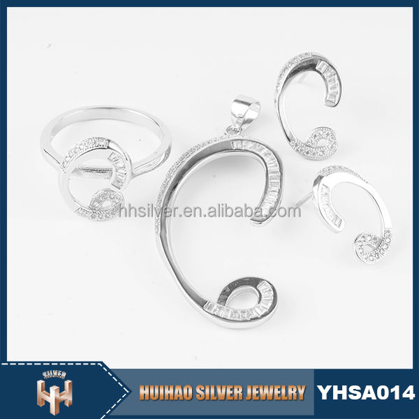 China manfacturer accept oem&odm service unique 925 sterling silver jewellery