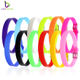 Wholesale 8mm Custom Wristband Bracelets Colorful Silicone Wristband Bracelet For Slide Charms