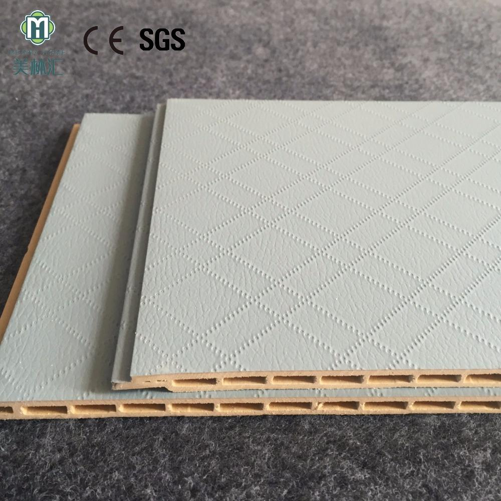 Morden mashup style PVC Ceiling Panel tiles for interior decoration eco friendly material wall decoration plastic