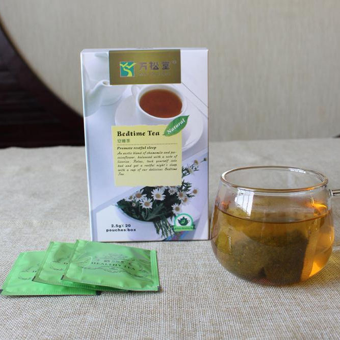 Bedtime Tea For Stress and Anxiety Relief - Herbal Sleep Aid Remedy To Relax