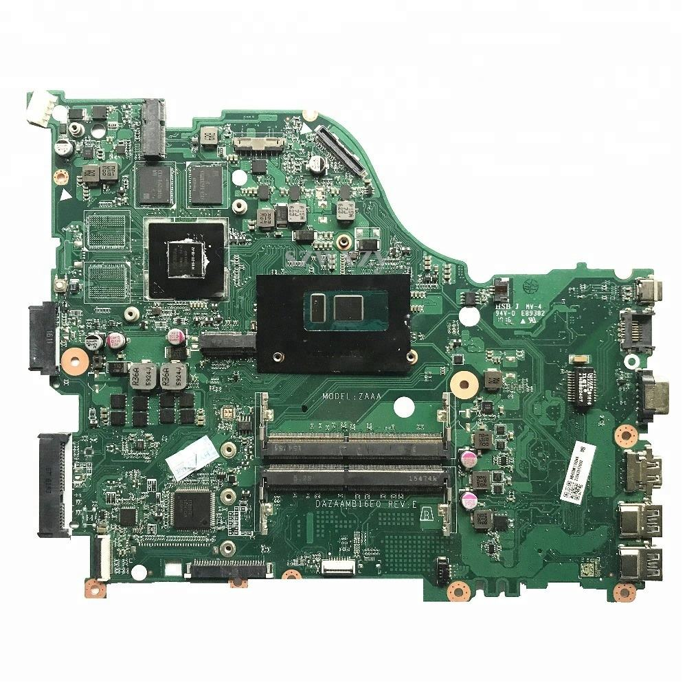 For ACER E5-575G Laptop Motherboard DAZAAMB16E0 NBGHG11004 NB.GHG11.004 With i5-6200U Processor