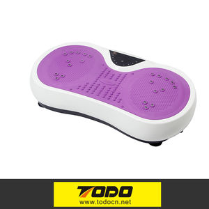 Exercise machine vibrating exercise platform small vibration plate manual