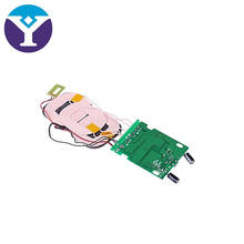 Qi 10W Fast Charging Wireless Charger PCBA Circuit Board with Qi Standard Coil DIY Wireless Charging Accessory