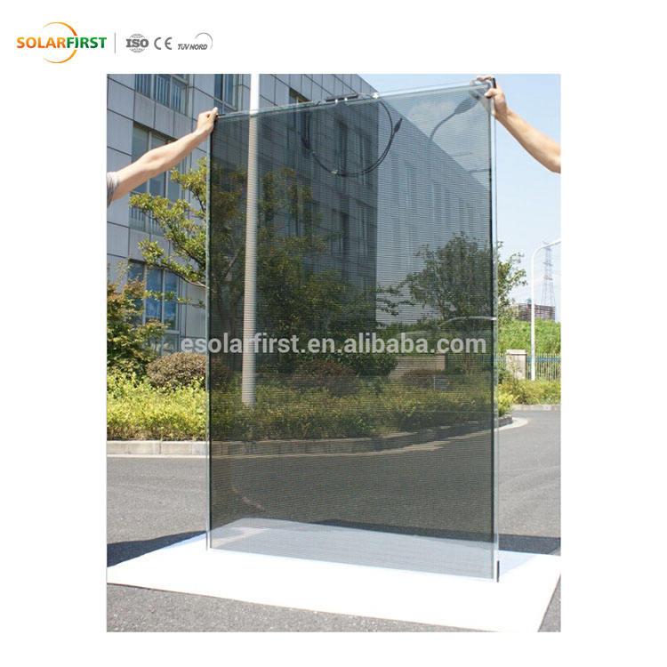 10% Trasparente Rete Elettrica Frameless Amorfo Fotovoltaico Calcolare Il Prezzo Pannello Solare