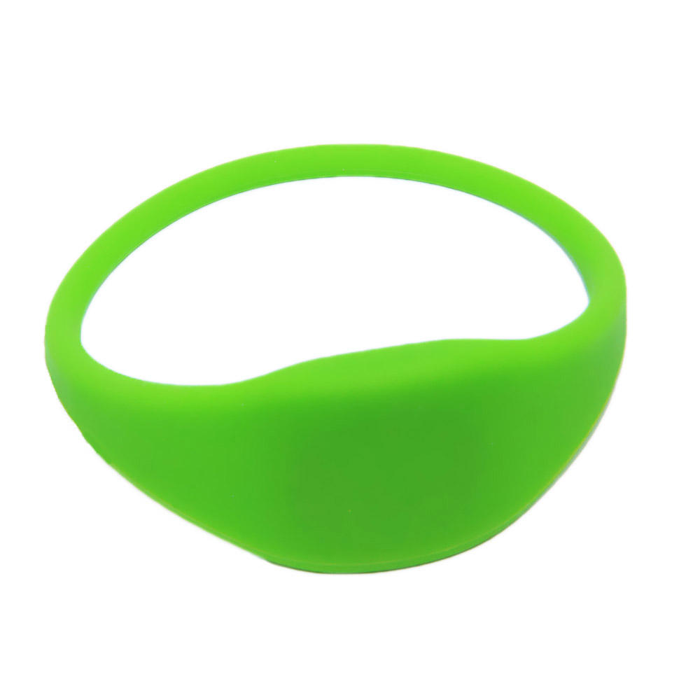 Passieve 14443A13. 56 mhz NFC Chip MIFARE Ultralight EV1 Silicone RFID Polsband Voor Hotel