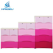 High quality plastic portable Bedroom Styles Foldable PP Wardrobe Closet
