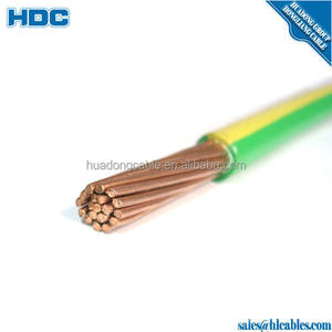 450/750 V Tahan Api 3 Inti Fleksibel Kawat Listrik Nama Electric Wire And Cable 16 Mm