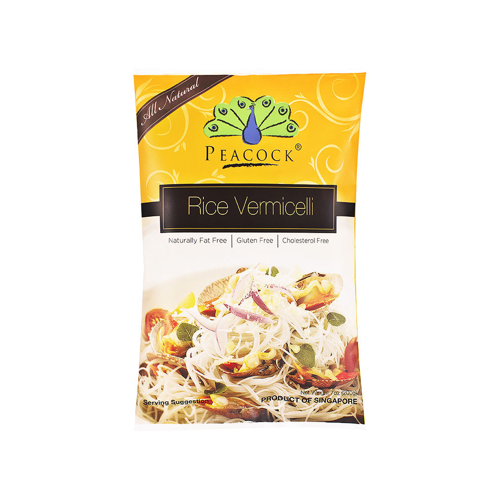 200G Peacock Brand Long Halal Rice Vermicelli Noodle