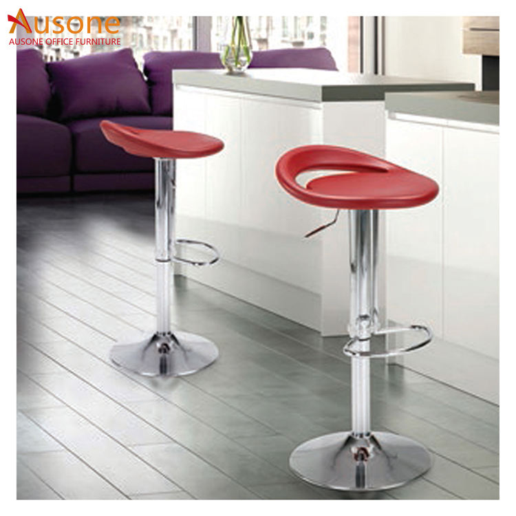 Guangzhou manufacturer bar chairs with footrest