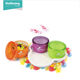 Made in China 3pcs/set plastic PS chocolate candy box snack storage container packaging gift box with tray