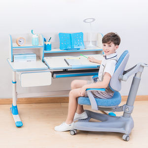Environmental protection Non-toxic Adjustable Height Ergonomic Kids Study Table and Desk