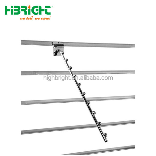 <span class=keywords><strong>10</strong></span> ballen waterval arm slat muur hanger retail display accessoires supermarkt <span class=keywords><strong>slatwall</strong></span> haak