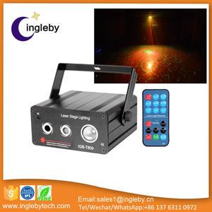 Beste verkauf günstigen preis führte laser zeigen systeme dmx512 control sound aktiven laser licht