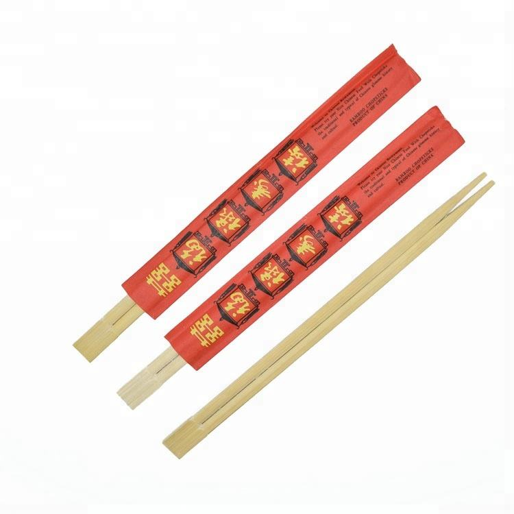 Wholesale Cheap Price Disposable 24cm Chinese Natural Wooden Bamboo Tensoge Chopstick