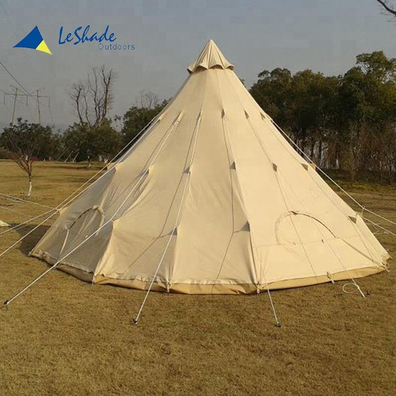 Outdoor teepee tent for hunter large tipi tent india tent