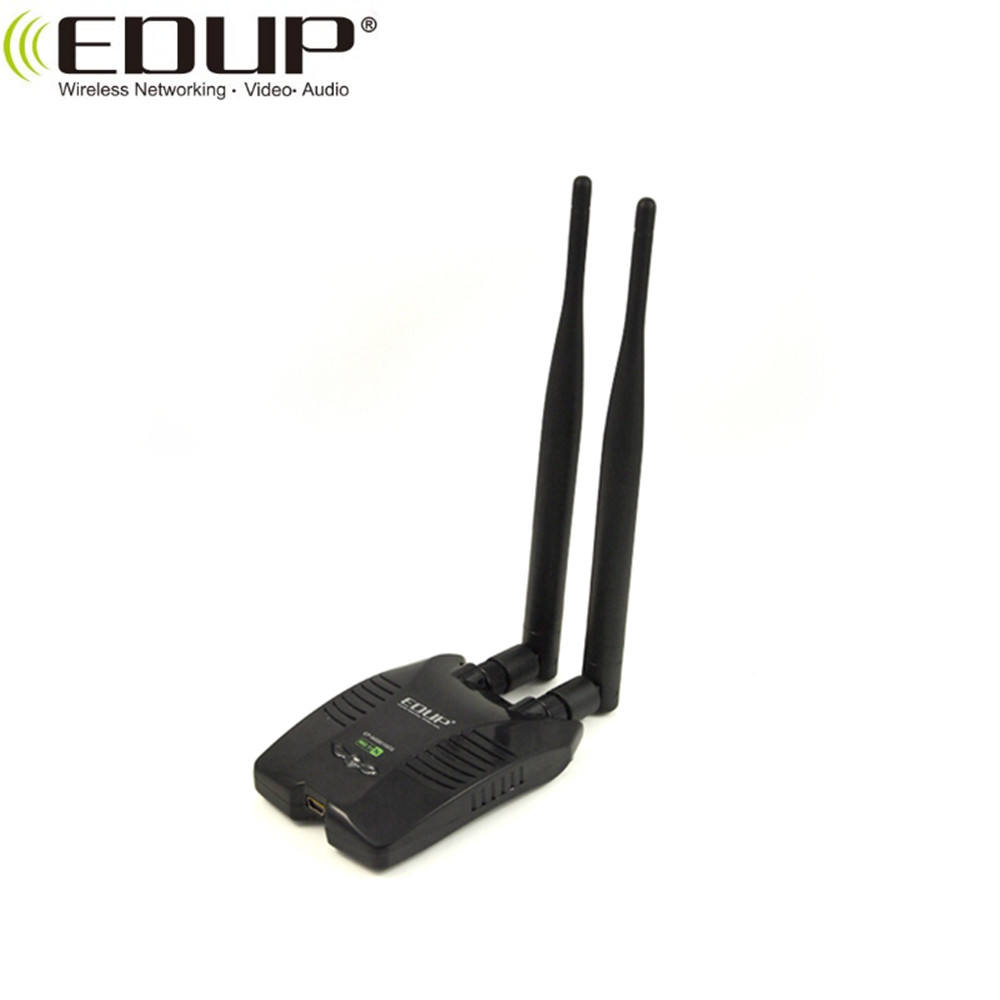 High Power USB WiFi Adapter 150 Mbps 2.4 GHz Wireless LAN Scheda di Rete