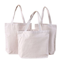 Wholesale Heavy Duty Custom Print 12oz Tote Canvas Shopping Bag with Logo