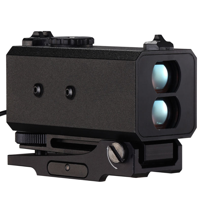 Alle Metal Jacket Rail Gemonteerd Caccia Laser Rangefinder Rifle Scope Voor
