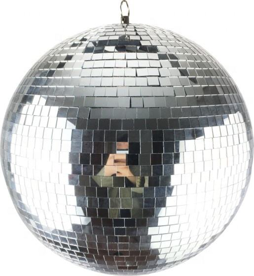 8 inch to 72 inch shiny silver color party disco light stage mirror balls