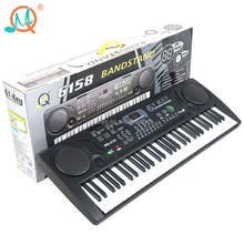 Factory direct price 61 keys digital display electronic keyboard piano with microphone