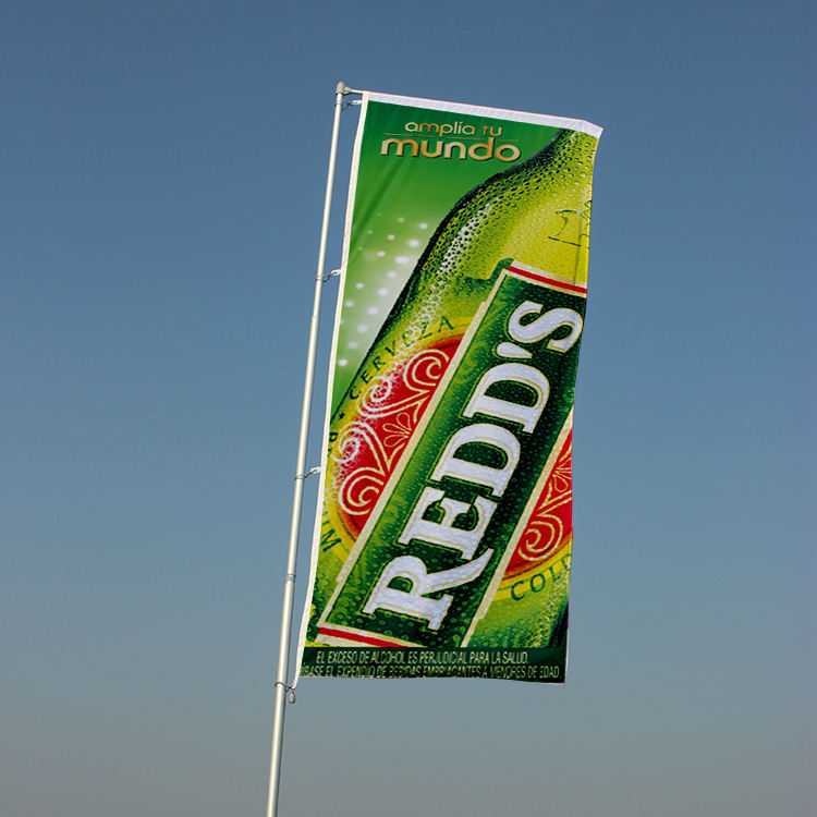 Digital printed big custom advertising banner flag