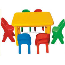 hot sale kindergarten table and chair children school furniture