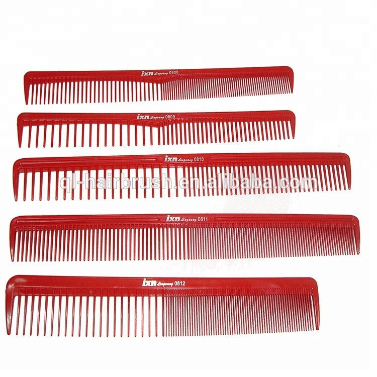 Pro Salon Hair Styling Hairdressing Barbers Plastic Brush Comb