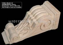 Asia Carvings Hand Carved wood corbel