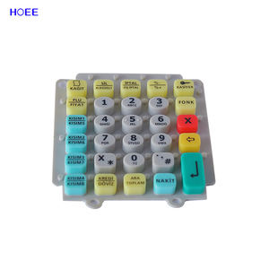 OEM Welcomed Rubber Keyboard Custom Made Silicone Button Rubber Keypad