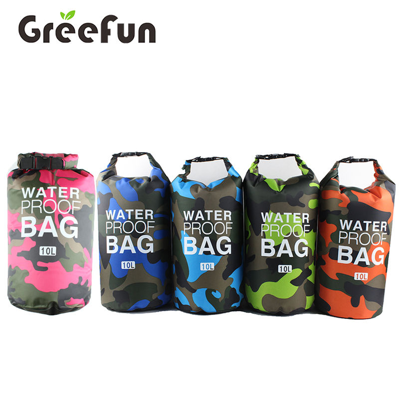 2019 New Product 20L Camouflage Military Ocean Dry Bag , Heavy duty High Quality Custom Design Waterproof Sack Pack