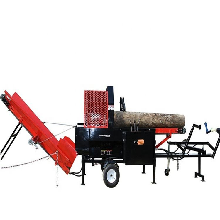 New Type 30 ton Gasoline wood Processor / log Splitter / Wood Cutter