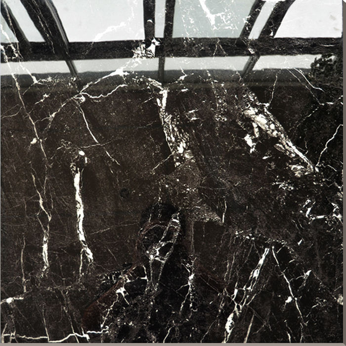 sparkle quartz floor tile/glazed Black and white floor tiles/exterior elevation wall tiles HS610GN