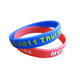 embossed charm custom wristband silicone snap bracelet bangle band wholesales