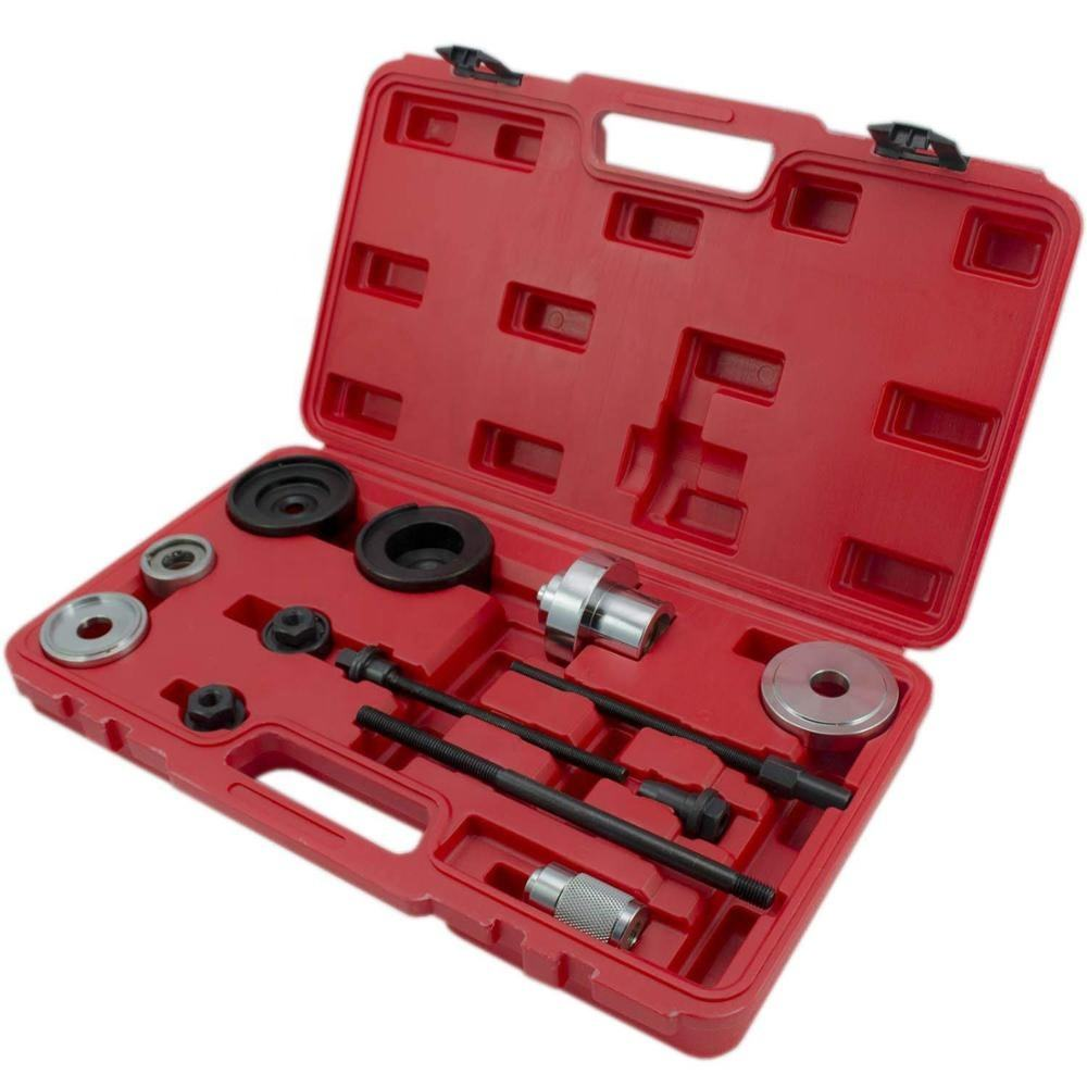 WINTOOLS Compatible for 13pc Rear Suspension Bush Extractor Tool Replace Axle Mounting Bushes for Audi VW