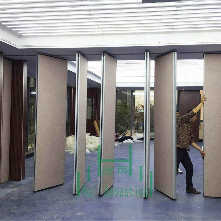 Restaurant Room Sliding Folding Partition Room Partition Guangzhou Sliding Panels Room Dividers
