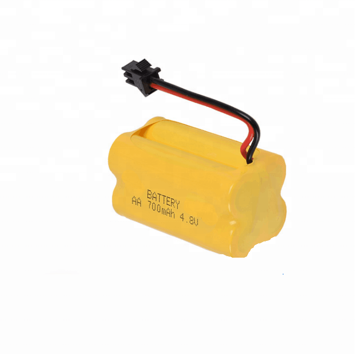 4.8v 700mAh AA Ni-Cd rechargeable battery battery pack