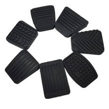 Automotive brake rubber pedal pad