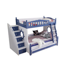 New products children bunk bed for girls and boys