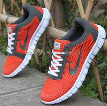 China Factory Wholesale Leisure men trainers shoes comfortable cheap Sport Shoes