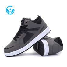 High quality men suede leather casual shoes and sneaker men comfortable fashion skate shoes with customized design